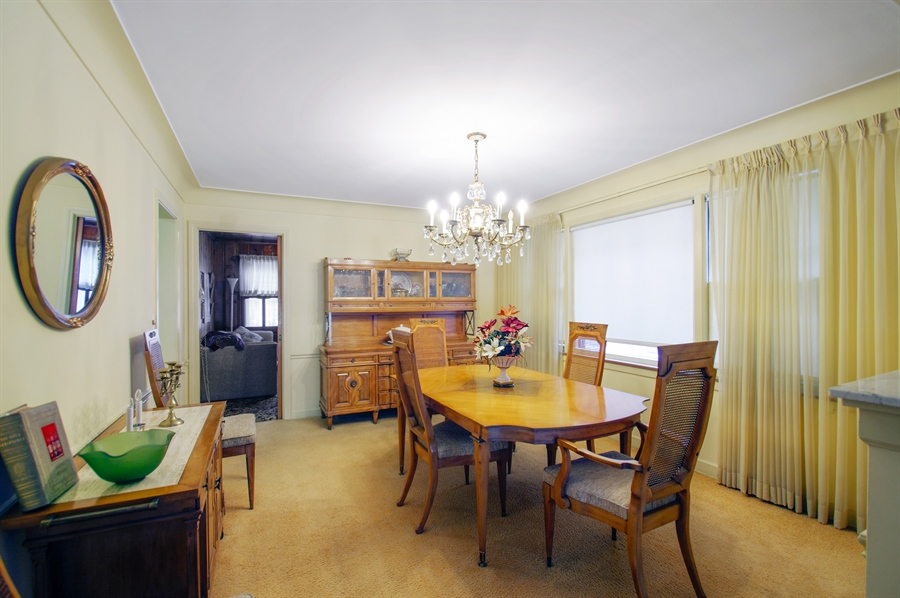 Real Estate Photography - 6248 N Drake Ave, Chicago, IL, 60659 - Dining Room