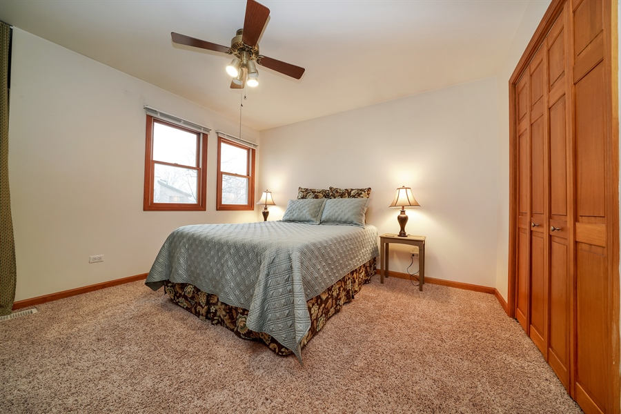 Real Estate Photography - 933 E. Crest Ave, Addison, IL, 60101 - 2nd Bedroom