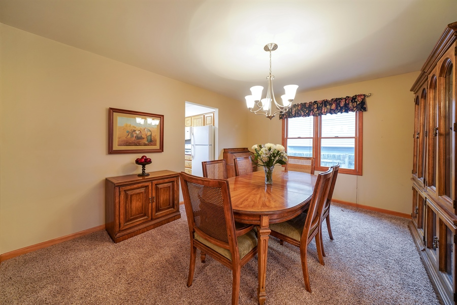 Real Estate Photography - 933 E. Crest Ave, Addison, IL, 60101 - Dining Room