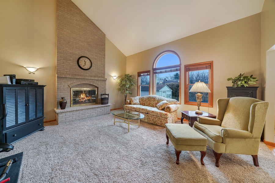 Real Estate Photography - 933 E. Crest Ave, Addison, IL, 60101 - Family Room