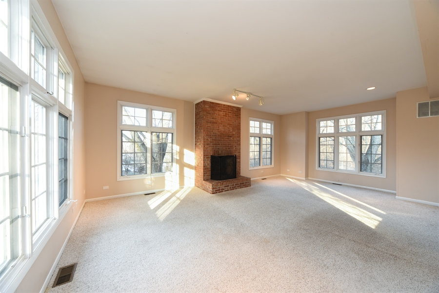 Real Estate Photography - 26072 W Indian Trail Rd, Barrington, IL, 60010 - Living Room
