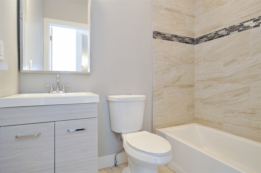 Real Estate Photography - 4841 W. Henderson St., Chicago, IL, 60641 - 3rd Bathroom