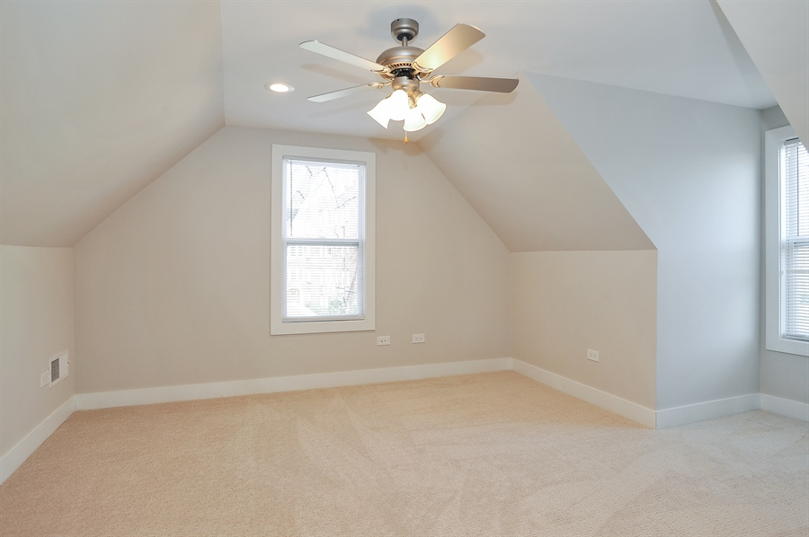 Real Estate Photography - 4841 W. Henderson St., Chicago, IL, 60641 - Master Bedroom