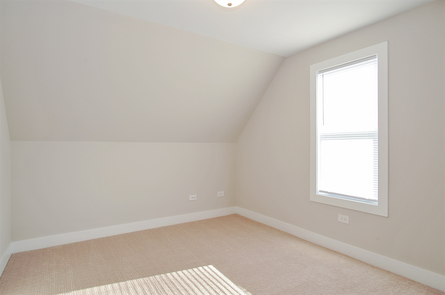 Real Estate Photography - 4841 W. Henderson St., Chicago, IL, 60641 - 2nd Bedroom