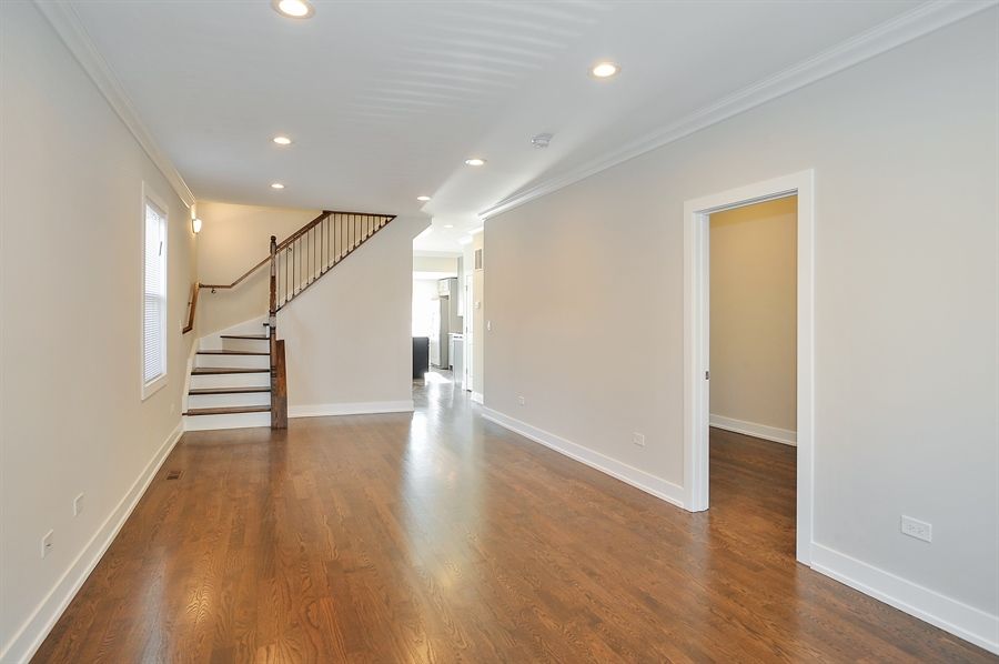 Real Estate Photography - 4841 W. Henderson St., Chicago, IL, 60641 - Living Room