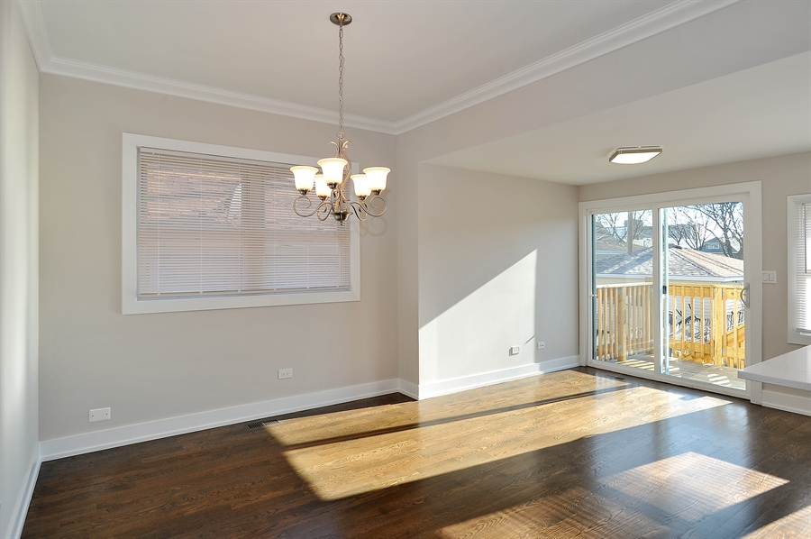 Real Estate Photography - 4841 W. Henderson St., Chicago, IL, 60641 - Dining Room