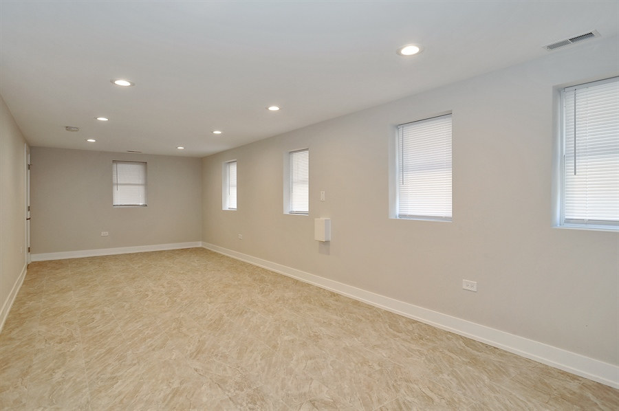 Real Estate Photography - 4841 W. Henderson St., Chicago, IL, 60641 - Family Room