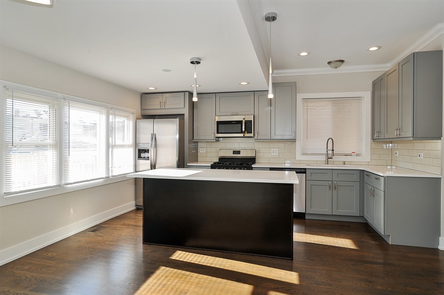 Real Estate Photography - 4841 W. Henderson St., Chicago, IL, 60641 - Kitchen