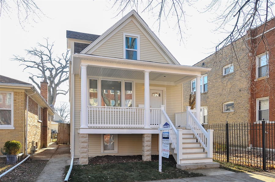 Real Estate Photography - 4841 W. Henderson St., Chicago, IL, 60641 - Front View