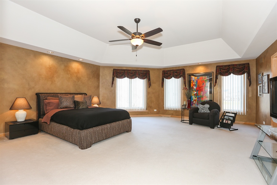 Real Estate Photography - 2603 Newton Avenue, Naperville, IL, 60564 - Master Bedroom
