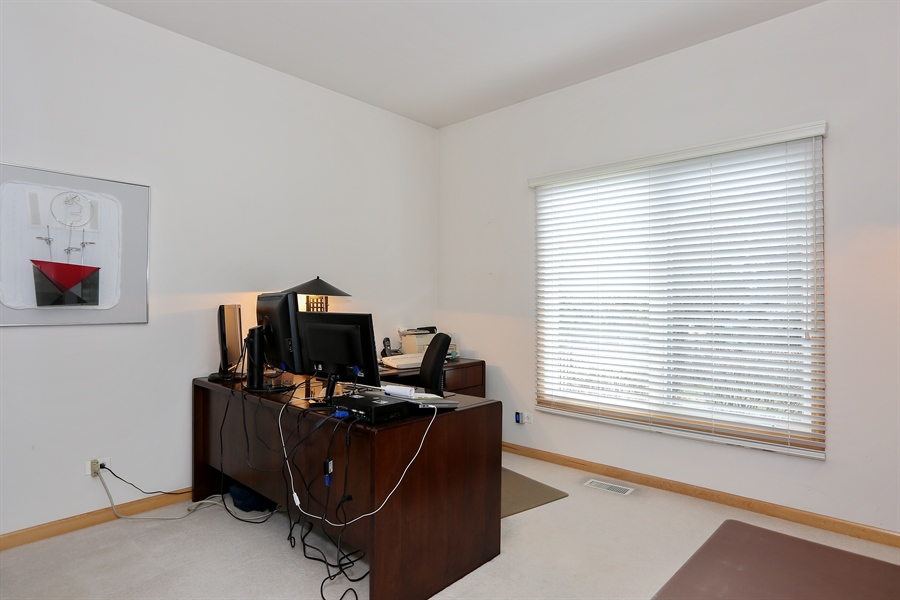 Real Estate Photography - 2603 Newton Avenue, Naperville, IL, 60564 - Office