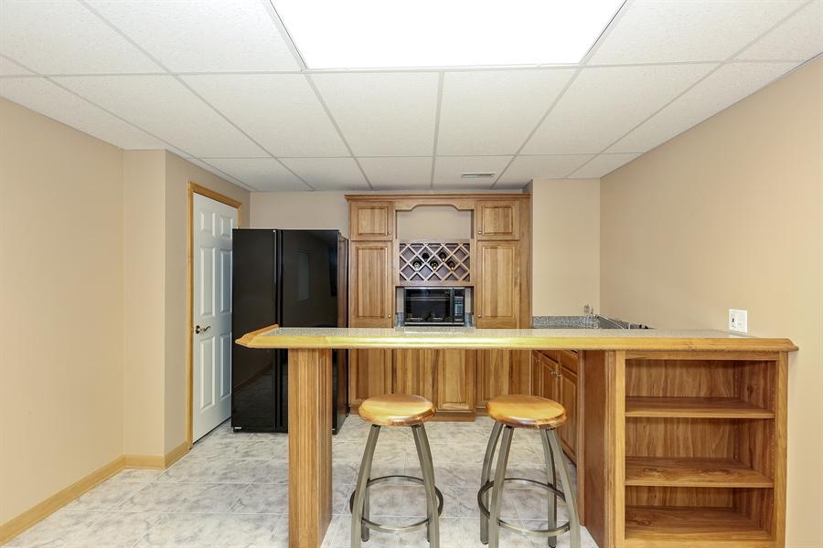 Real Estate Photography - 2603 Newton Avenue, Naperville, IL, 60564 - Bar