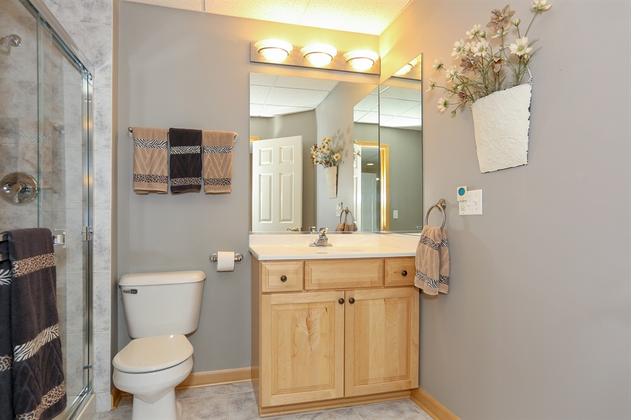 Real Estate Photography - 2603 Newton Avenue, Naperville, IL, 60564 - 2nd Bathroom