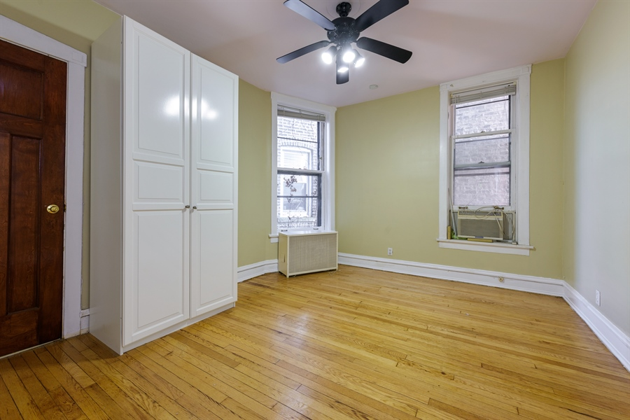 Real Estate Photography - 1236 W Columbia Ave, 2E, Chicago, IL, 60626 - Master Bedroom