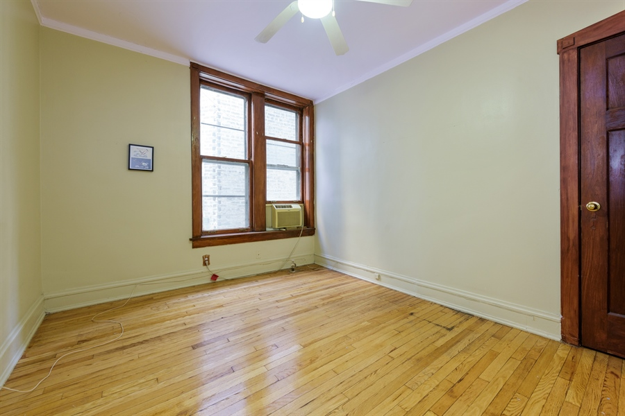 Real Estate Photography - 1236 W Columbia Ave, 2E, Chicago, IL, 60626 - 2nd Bedroom