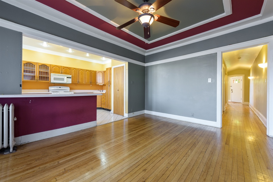 Real Estate Photography - 1236 W Columbia Ave, 2E, Chicago, IL, 60626 - Dining Room