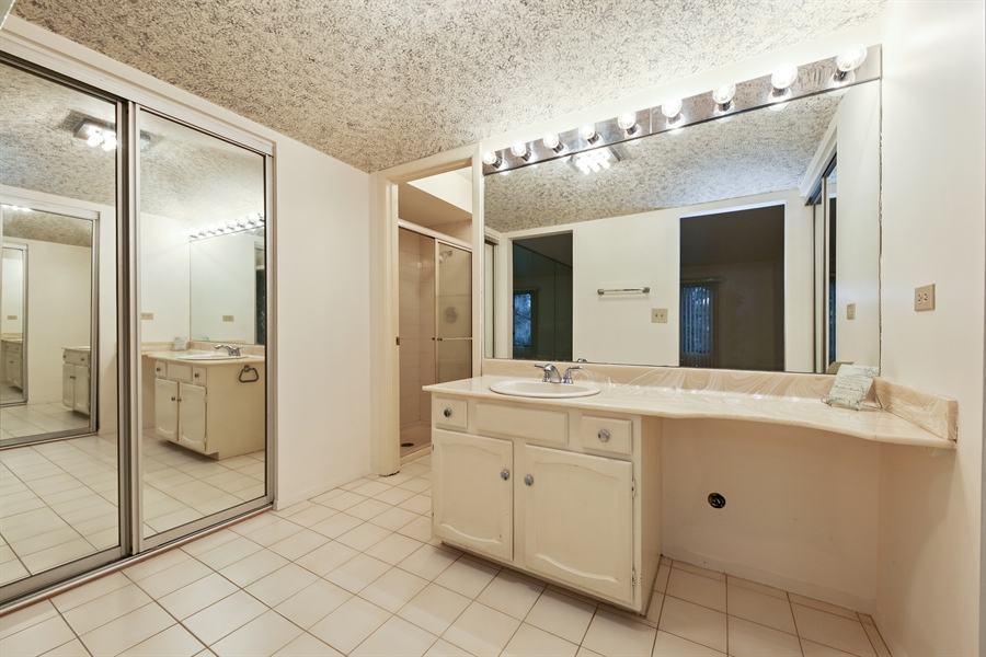 Real Estate Photography - 740 Cherrywood, C, Willowbrook, IL, 60527 - Master Bathroom