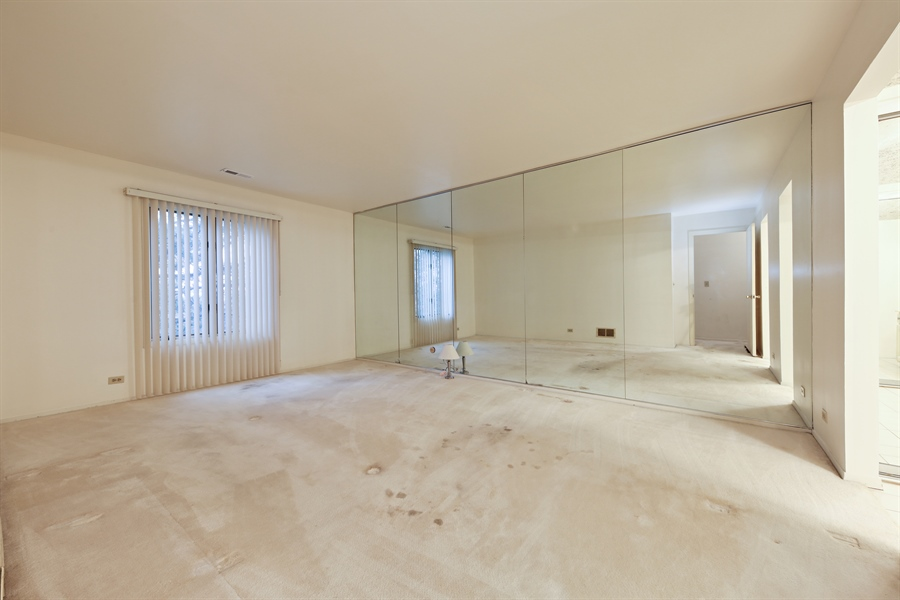 Real Estate Photography - 740 Cherrywood, C, Willowbrook, IL, 60527 - Master Bedroom