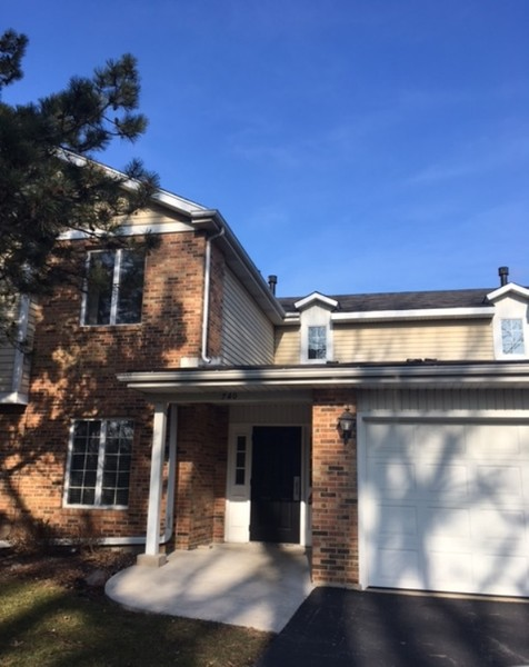 Real Estate Photography - 740 Cherrywood, C, Willowbrook, IL, 60527 -