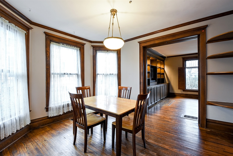 Real Estate Photography - 541 S. Hough St., Barrington, IL, 60010 - Dining Room