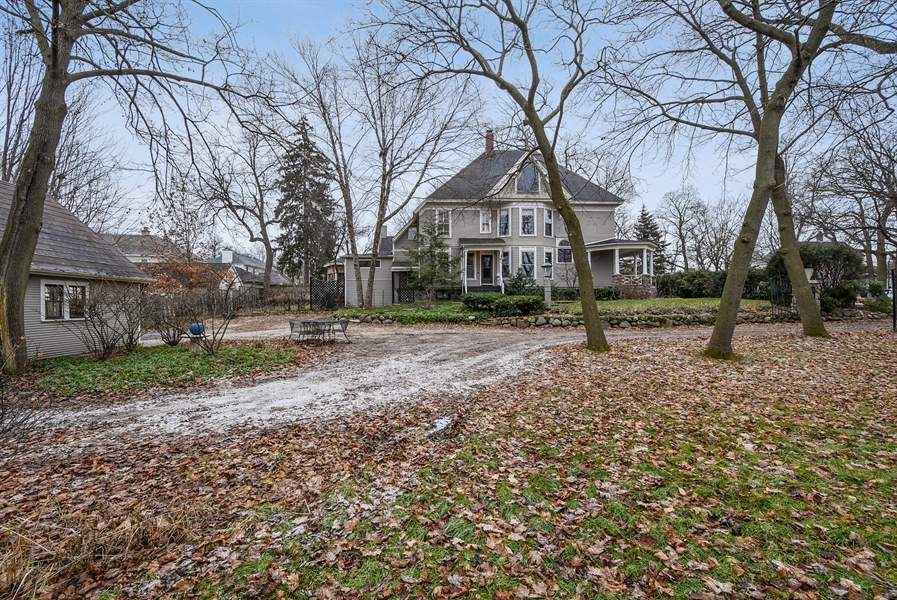 Real Estate Photography - 541 S. Hough St., Barrington, IL, 60010 - Front View