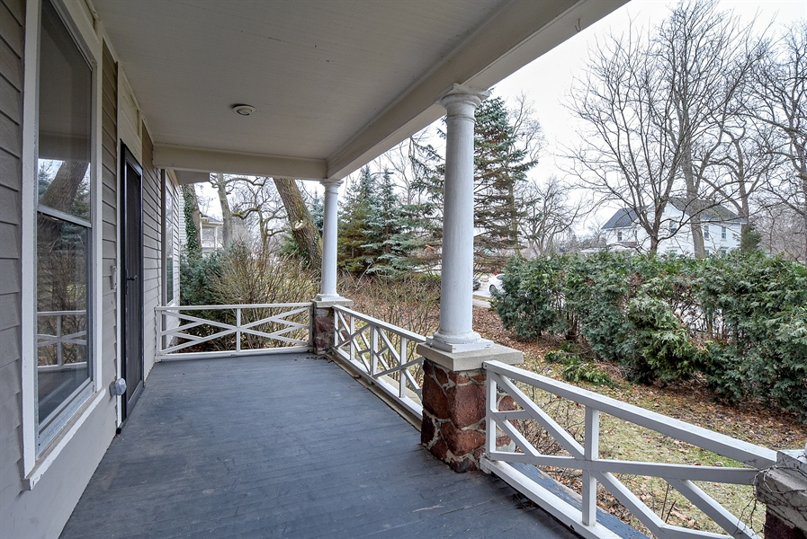 Real Estate Photography - 541 S. Hough St., Barrington, IL, 60010 - Porch