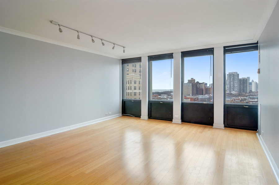 Real Estate Photography - 444 W Fullerton, #1306, Chicago, IL, 60614 - Living Room