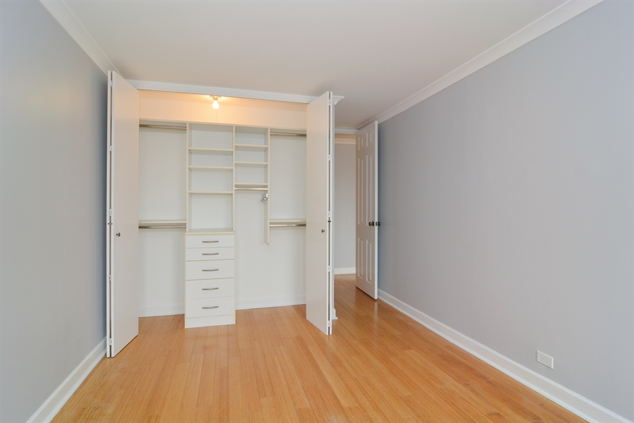 Real Estate Photography - 444 W Fullerton, #1306, Chicago, IL, 60614 - Bedroom