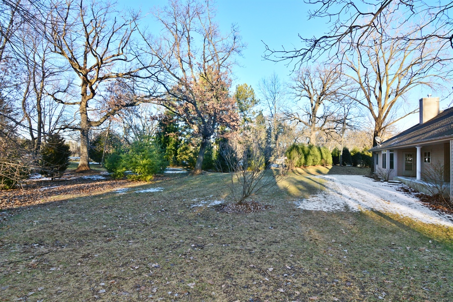 Real Estate Photography - W7076 Oakdale Drive, Beaver Dam, WI, 53916 - Back Yard