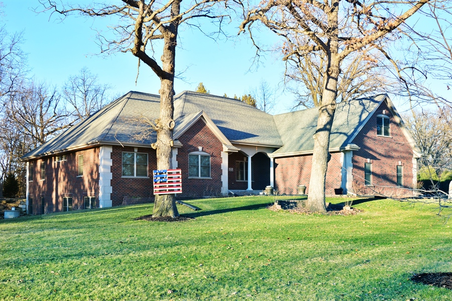 Real Estate Photography - W7076 Oakdale Drive, Beaver Dam, WI, 53916 - Front View