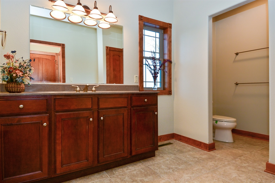 Real Estate Photography - W7076 Oakdale Drive, Beaver Dam, WI, 53916 - Bathroom