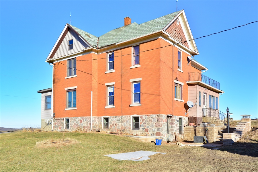 Real Estate Photography - W1541 Racoon Road, Theresa, WI, 53091 - Rear View