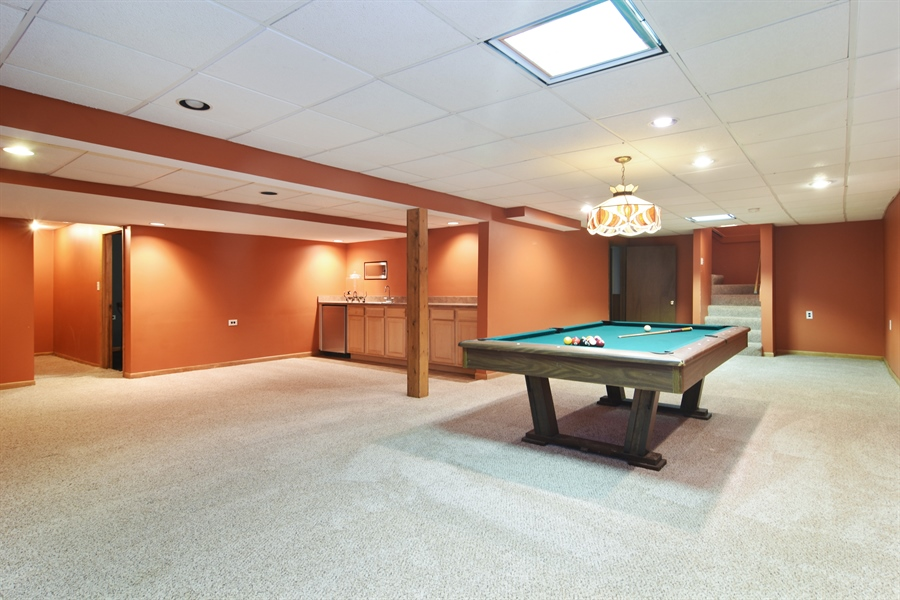 Real Estate Photography - 9 Lake View Road, hawthorn Woods, IL, 60047 - Basement