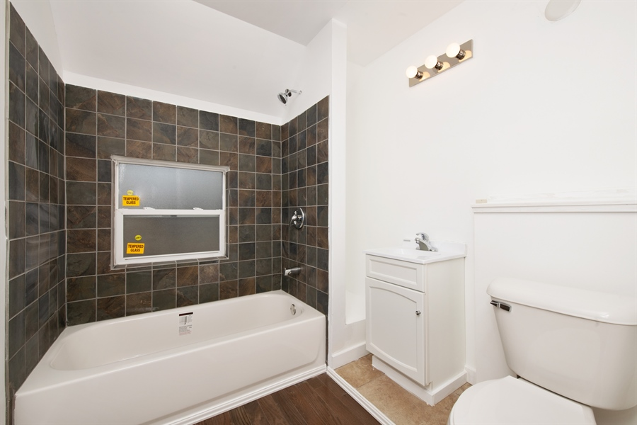 Real Estate Photography - 1748 N. 18th St., Milwaukee, WI, 53205 - 2nd Bathroom