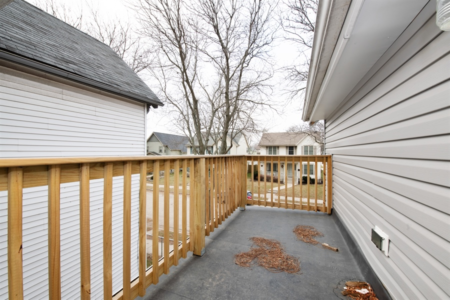 Real Estate Photography - 1748 N. 18th St., Milwaukee, WI, 53205 - Balcony
