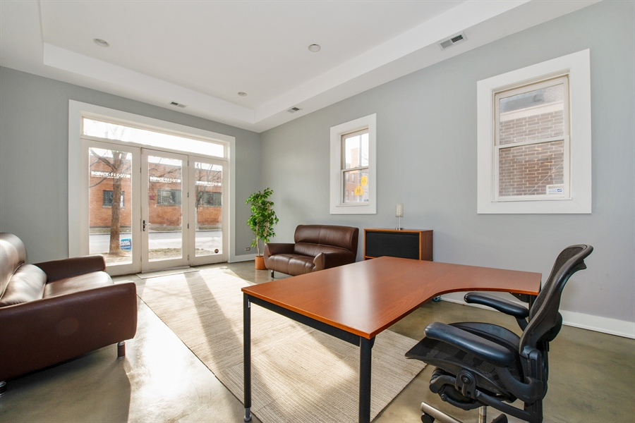 Real Estate Photography - 1448 W Montrose, grnd, Chicago, IL, 60613 - Office