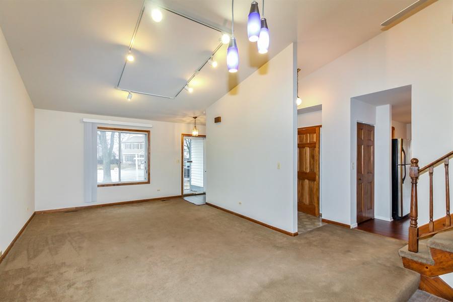 Real Estate Photography - 29W796 Hurlingham Court, Warrenville, IL, 60555 - Living Room