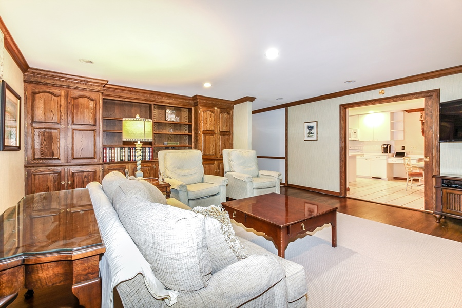 Real Estate Photography - 5101 Harvey Ave, Western Springs, IL, 60558 - Family Room