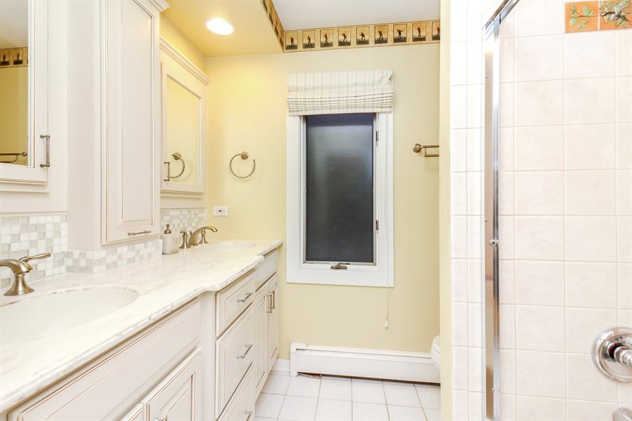 Real Estate Photography - 5101 Harvey Ave, Western Springs, IL, 60558 - Bathroom