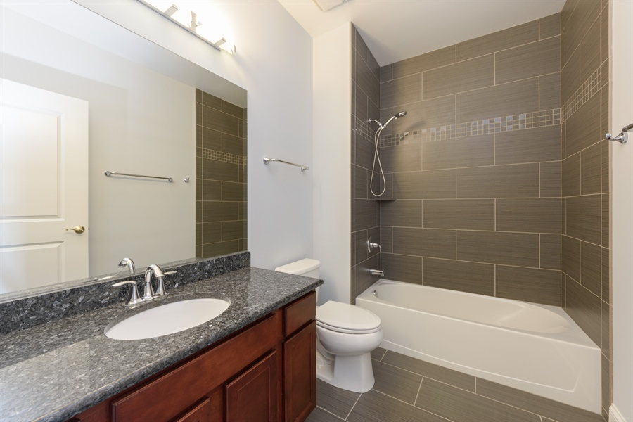 Real Estate Photography - 100 Prairie Park Drive, 507, Wheeling, IL, 60090 - 2nd Bathroom