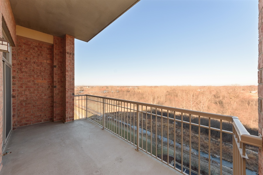 Real Estate Photography - 100 Prairie Park Drive, 507, Wheeling, IL, 60090 - Balcony