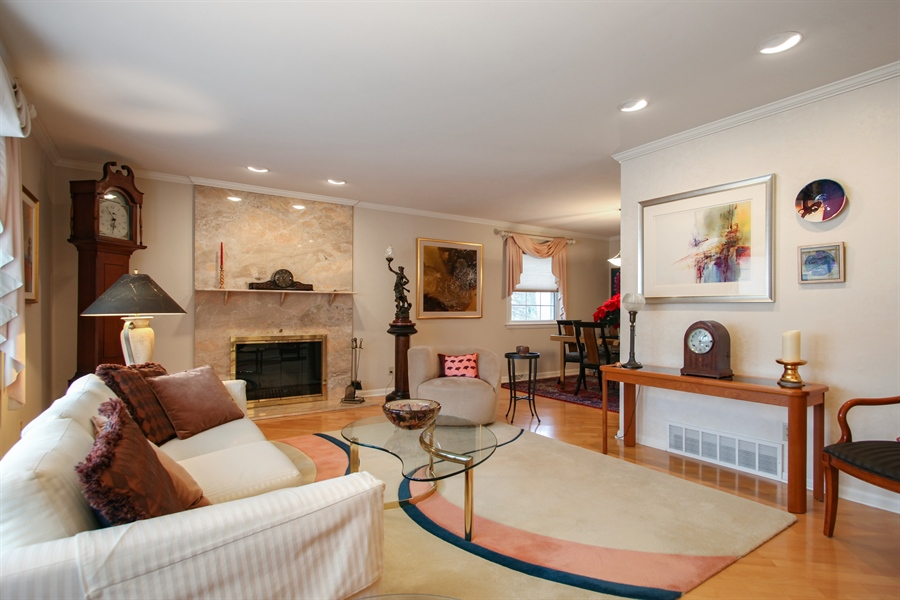 Real Estate Photography - 1017 Sweetbriar Dr, Waukesha, WI, 53186 - Living Room