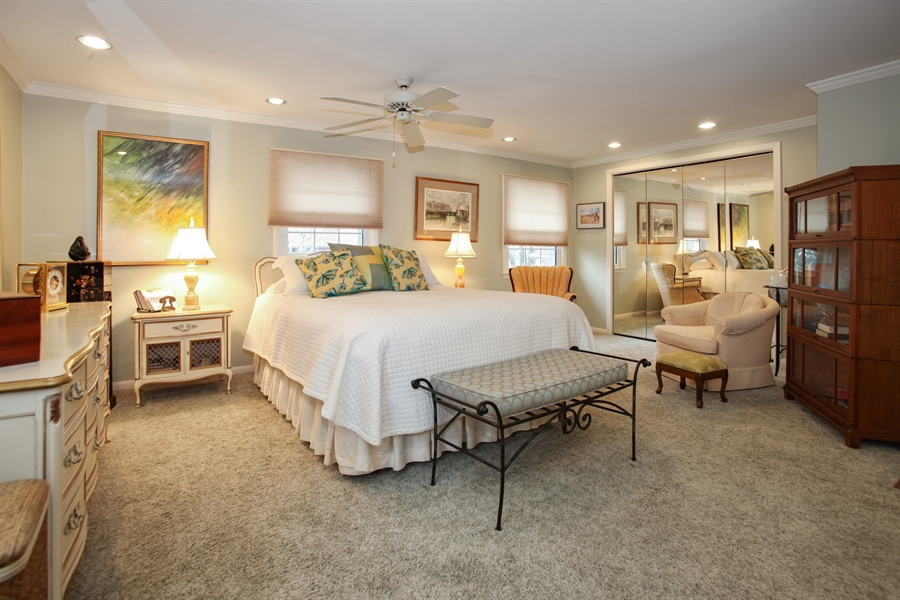 Real Estate Photography - 1017 Sweetbriar Dr, Waukesha, WI, 53186 - Master Bedroom