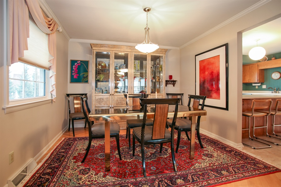 Real Estate Photography - 1017 Sweetbriar Dr, Waukesha, WI, 53186 - Dining Area