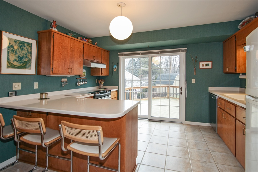 Real Estate Photography - 1017 Sweetbriar Dr, Waukesha, WI, 53186 - Kitchen