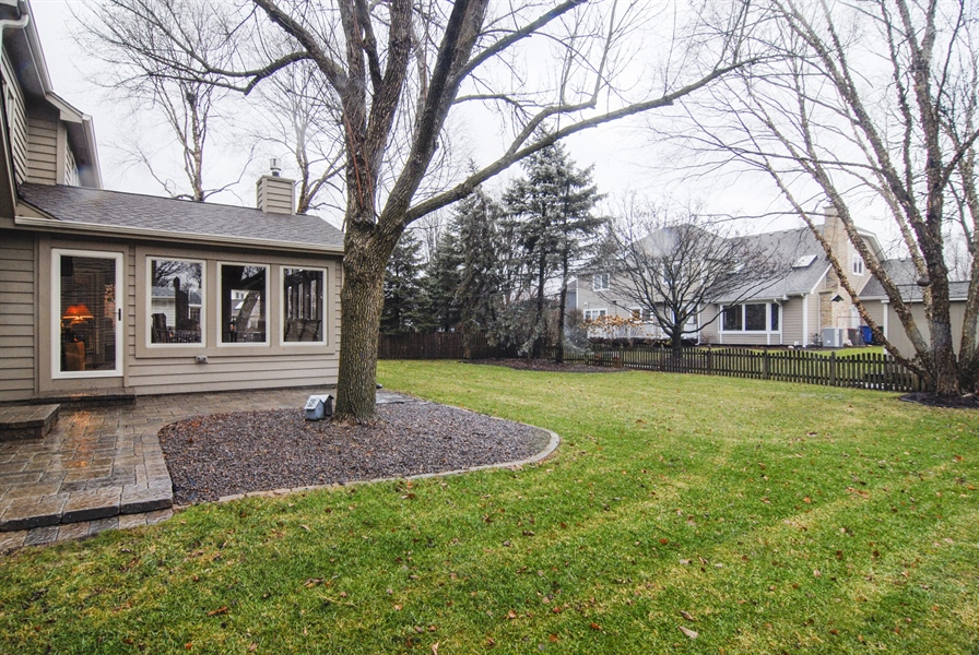 Real Estate Photography - 420 Apple River Dr, Naperville, IL, 60565 - Back Yard