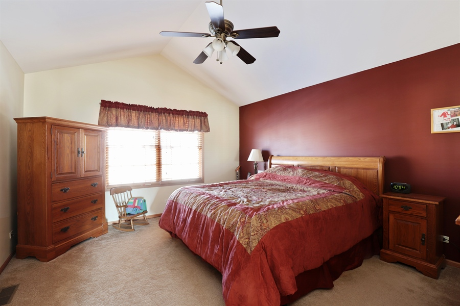 Real Estate Photography - 1020 Inverness Dr, Antioch, IL, 60002 - Master Bedroom