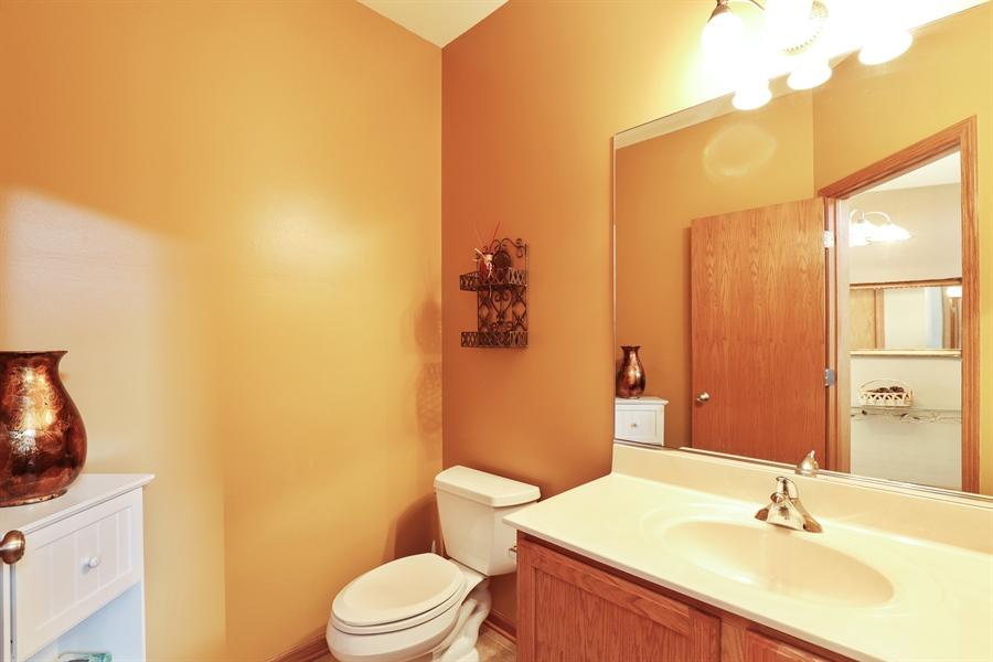 Real Estate Photography - 1020 Inverness Dr, Antioch, IL, 60002 - Half Bath