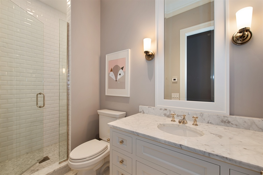 Real Estate Photography - 1838 N Hudson Ave, Chicago, IL, 60614 - 4th Bathroom