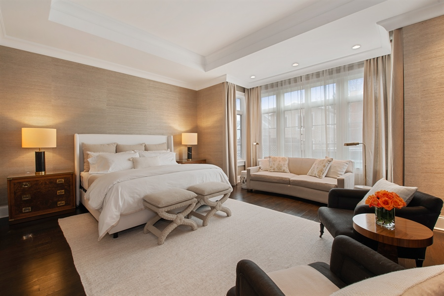 Real Estate Photography - 1838 N Hudson Ave, Chicago, IL, 60614 - Master Bedroom